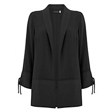 Buy Mint Velvet Georgette Duster Jacket, Black Online at johnlewis.com