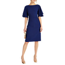 Buy Phase Eight Daley Drape Dress, Delphinium Online at johnlewis.com