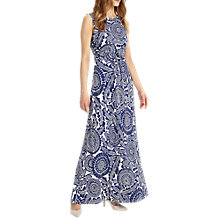 Buy Phase Eight Ceramic Sunflower Dress, Blue/White Online at johnlewis.com