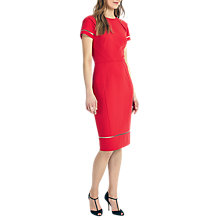 Buy Phase Eight Dorethea Dress, Carmine Online at johnlewis.com