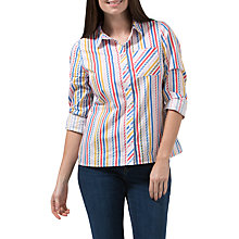 Buy Sugarhill Boutique Vicki Candy Stripe Shirt, Multi Online at johnlewis.com