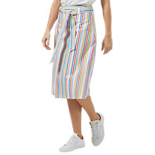 Buy Sugarhill Boutique Jasmine Candy Stripe Belted Skirt, Multi Online at johnlewis.com