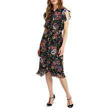 Buy Phase Eight Riley Ruffled Floral Dress, Multi Online at johnlewis.com