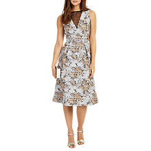 Buy Phase Eight Elebeth Jacquard Dress, Multi Online at johnlewis.com
