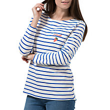 Buy Sugarhill Boutique Brighton Fresh Embroidered Top, White/Blue Online at johnlewis.com