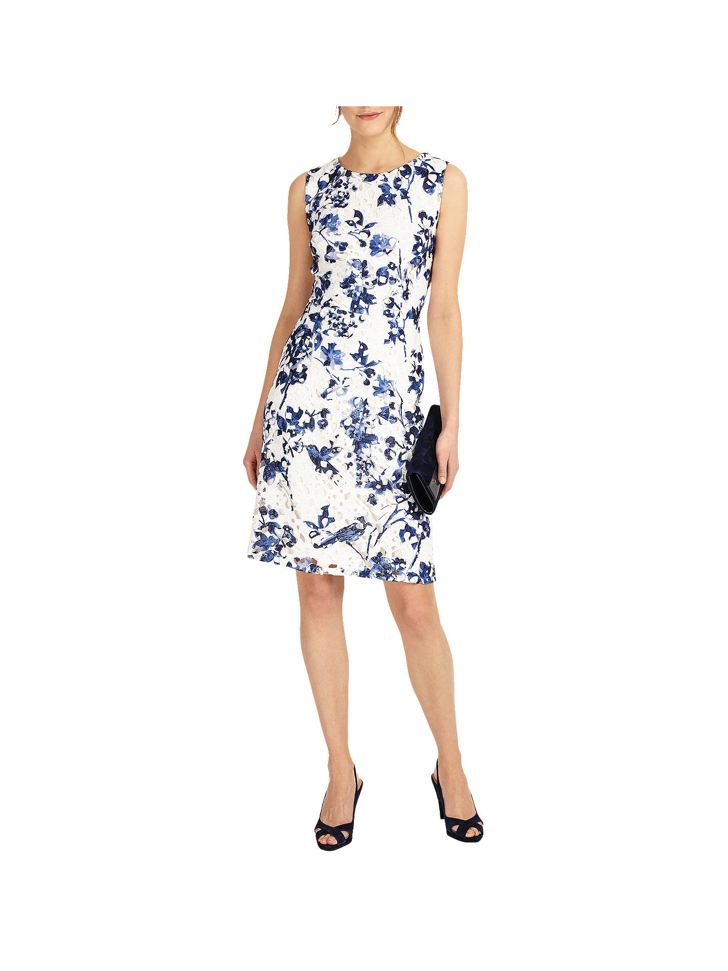 71535213650f Buy Phase Eight Lola Lace Floral Print Dress