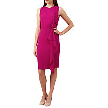 Buy Hobbs Betsy Dress, Magenta Pink Online at johnlewis.com