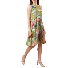 Buy Hobbs Daisy Dress, Green/Multi Online at johnlewis.com