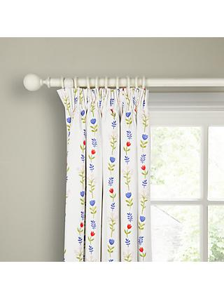 little home at John Lewis Country Fairies Pencil Pleat Pair Blackout Lined Children's Curtains