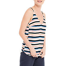 Buy Oasis Stripe Cami Top, Multi Online at johnlewis.com