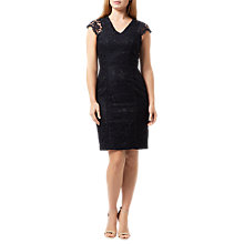 Buy Damsel in a dress Clementina Dress, Navy Online at johnlewis.com