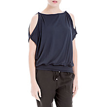 Buy Max Studio Cold Shoulder Jersey Top Online at johnlewis.com
