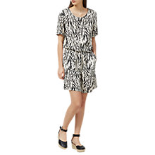 Buy Selected Femme Lauren Printed Playsuit, Black Online at johnlewis.com