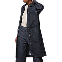 Buy Toast Denim Workwear Coat, Indigo Online at johnlewis.com