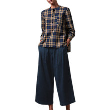 Buy Toast Pleat Front Trousers, Indigo Online at johnlewis.com