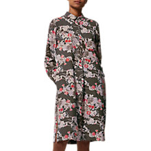 Buy Toast Guan Floral Spun Silk Dress, Multi Online at johnlewis.com