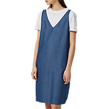 Buy Selected Femme Saramia Dress, Medium Denim Online at johnlewis.com