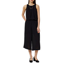 Buy Selected Femme Badelia Cropped Jumpsuit, Black Online at johnlewis.com