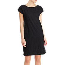 Buy Lauren Ralph Lauren Embroidered Shift Dress, Polo Black Online at johnlewis.com