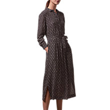 Buy Toast Diamond Dot Print Dress, Slate Online at johnlewis.com