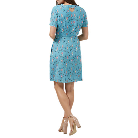 Buy Sugarhill Boutique Love Mermaid Shift Dress, Dusky Blue Online at johnlewis.com