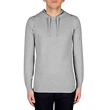 Buy John Smedley Singular Hoodie, Bardot Grey Online at johnlewis.com