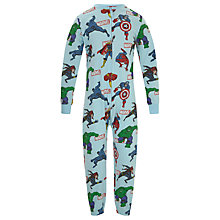 Buy Marvel Children's All-Over Print Onesie, Multi Online at johnlewis.com