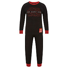Buy Star Wars Children's Long Pyjamas, Black Online at johnlewis.com