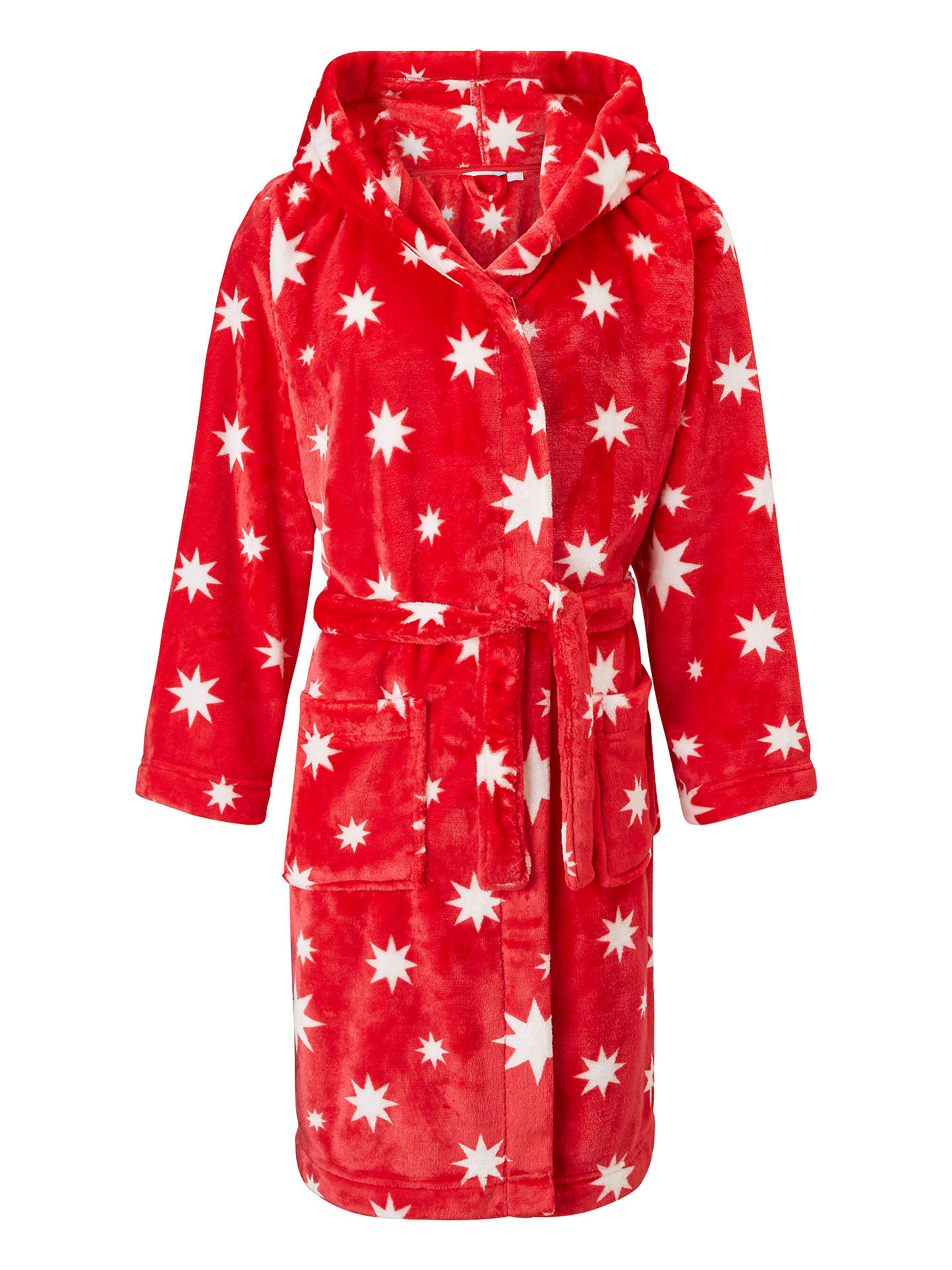 fe86cab94 John Lewis Children s Star Print Dressing Gown
