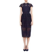 Buy Ted Baker Scalloped Lace Tunic Dress Online at johnlewis.com