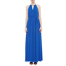 Buy Ted Baker Bar Detail Maxi Dress, Blue Online at johnlewis.com