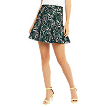 Buy Oasis Tropical Geo Flippy Skirt, Multi Online at johnlewis.com