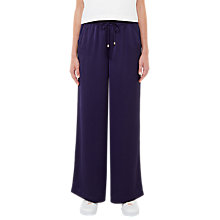 Buy Ted Baker Pentela Wide-Leg Jogging Bottoms, Navy Online at johnlewis.com