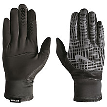 Buy Nike Therma-Fit Running Gloves Online at johnlewis.com