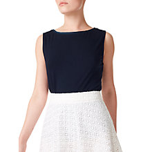 Buy Precis Petite Satin Trim Vest Online at johnlewis.com