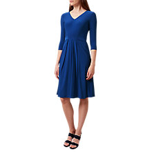 Buy Hobbs Amber Dress, Cobalt Online at johnlewis.com