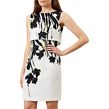 Buy Hobbs Bree Dress, Ivory/Multi Online at johnlewis.com