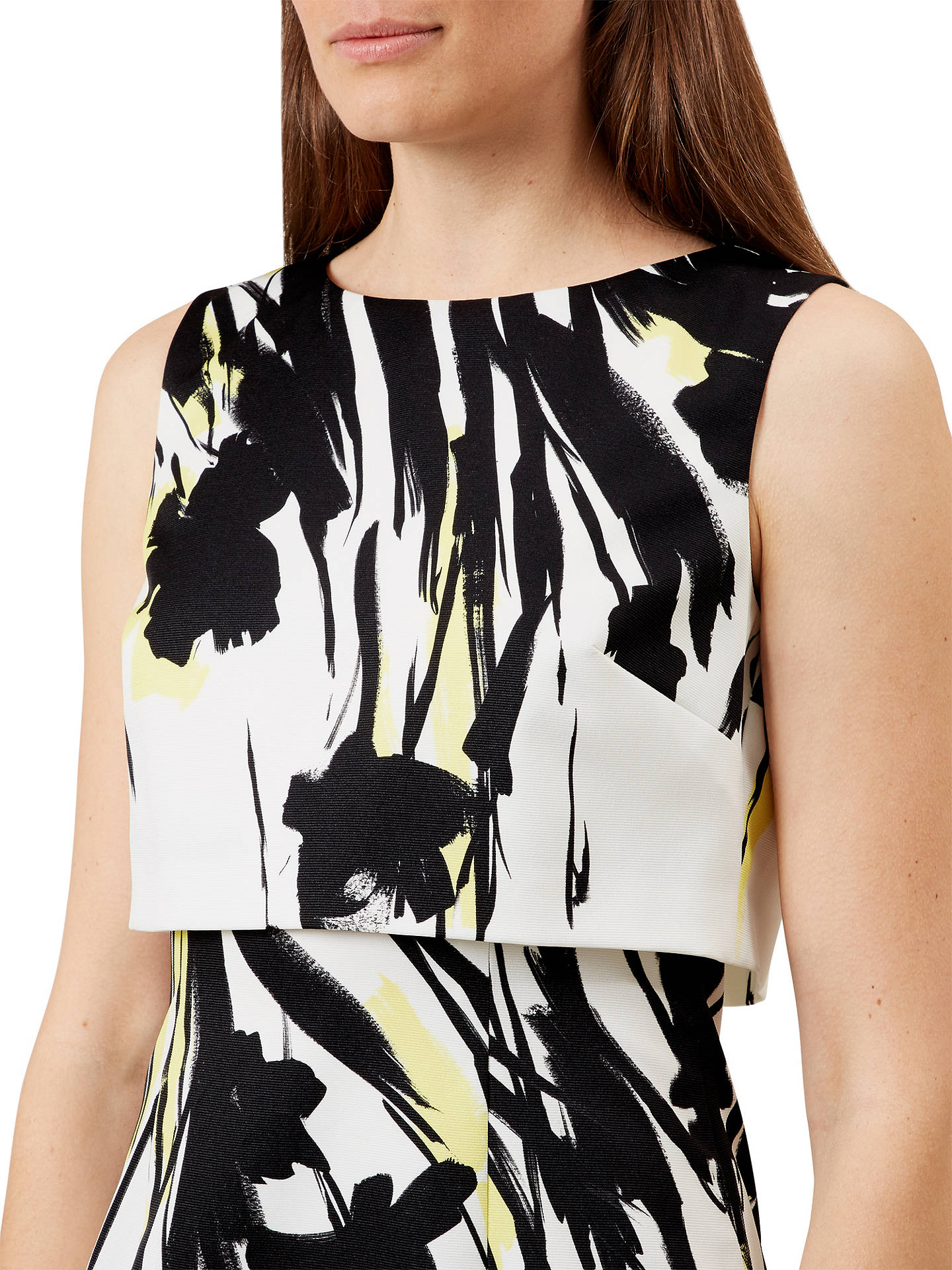 BuyHobbs Bree Dress, Ivory/Multi, 6 Online at johnlewis.com