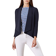 Buy Hobbs Tess Jacket, Navy Online at johnlewis.com