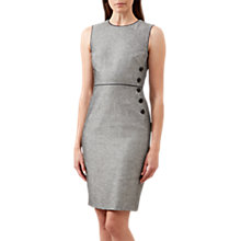Buy Hobbs Juliet Dress, Navy/Ivory Online at johnlewis.com