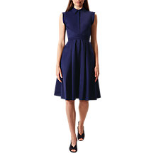 Buy Hobbs Gables Dress, Blueberry Online at johnlewis.com