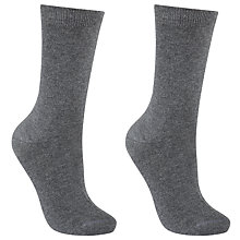 Buy John Lewis Egyptian Cotton Ankle Socks Online at johnlewis.com