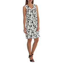 Buy Betty & Co. Printed Shift Dress, White/Black Online at johnlewis.com
