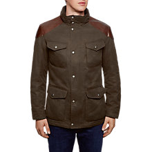 Buy Hackett London Special Edition Velospeed Jacket, Green Online at johnlewis.com