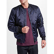 Buy Diesel J-Quest Jacket, Peacoat Blue Online at johnlewis.com