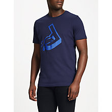 Buy Diesel T-Joe-Ra T-Shirt, Peacoat Blue Online at johnlewis.com