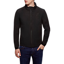 Buy Hackett London AMR Zip Jacket, Black Online at johnlewis.com