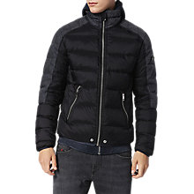 Buy Diesel W-Mode Jacket, Black Online at johnlewis.com