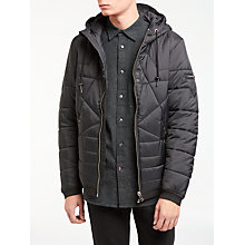 Buy Diesel W-David Jacket, Black Online at johnlewis.com