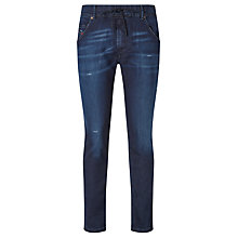 Buy Diesel Krooley R-NE Carrot Jeans, Blue Online at johnlewis.com